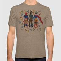 Super Hero BUTTs   It's … Mens Fitted Tee Tri-Coffee SMALL