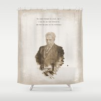 The One Less Traveled By Shower Curtain