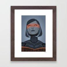 spectr.es: EDI Framed Art Print