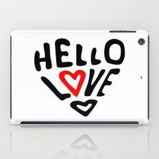 Hello Love iPad Case