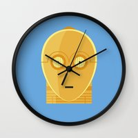 Star Wars Minimalism - C… Wall Clock