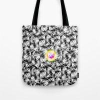 M. CMYKat. Escher Tote Bag
