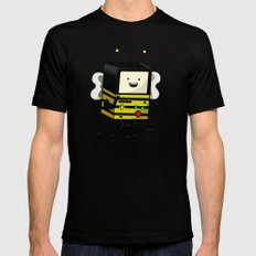 BEE-MO Mens Fitted Tee Black SMALL