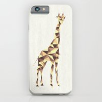 iPhone & iPod Case featuring Giraffe #2 by basilique