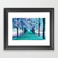 Blue Lane Framed Art Print