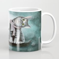 Cat and Owl Mug