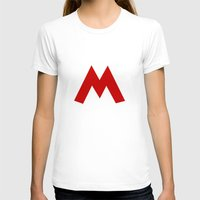 mario T-shirts featuring Mario by Jynxit