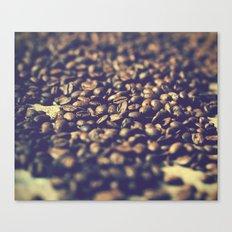 Vintage coffee Canvas Print
