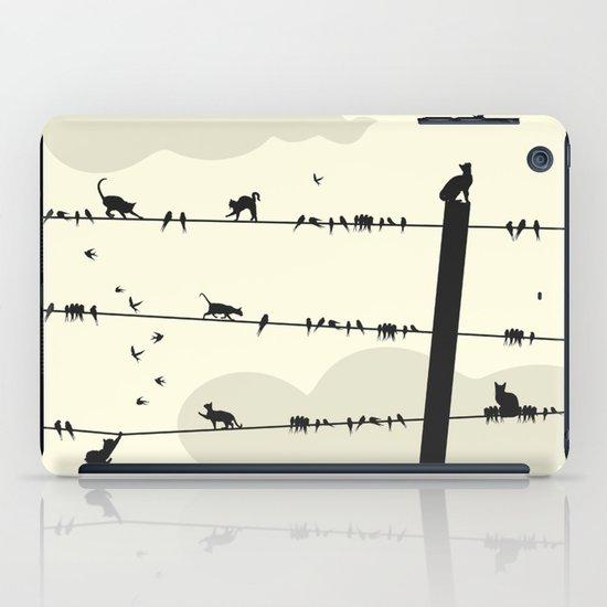Cats and Birds iPad Case