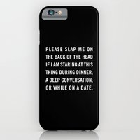 iPhone & iPod Case featuring Smartphone slap by Goldfish Kiss