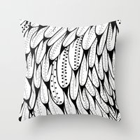 Bird Pattern Throw Pillow