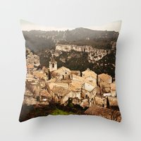 Les Baux De Provence Throw Pillow