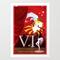 Vintage FF Poster VI Art Print