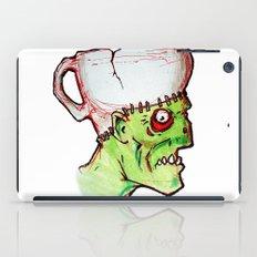 coffee zombie notext iPad Case