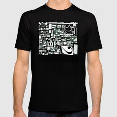 Numbers by Friztin Mens Fitted Tee Black SMALL