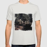 Afterlife: the still world Mens Fitted Tee Silver SMALL