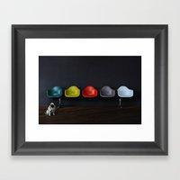 Vitra Dog Framed Art Print