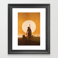 Awaken Framed Art Print