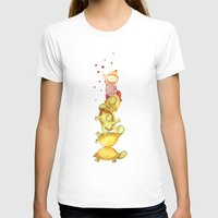 turtles Womens Fitted Tee White SMALL