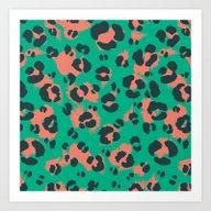 Leopard Print #1 Art Print