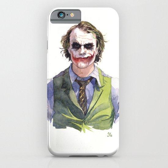 Heath Ledger (The Joker) iPhone & iPod Case