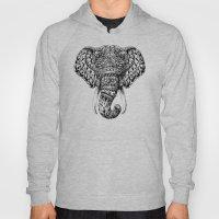 Ornate Elephant Head Hoody