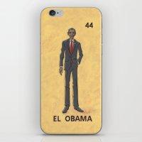 EL OBAMA iPhone & iPod Skin