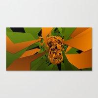 Monkey - Tepetl Canvas Print