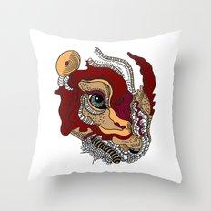 Rhino Dinosaur Throw Pillow