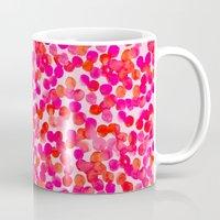 Pink Spots Mug