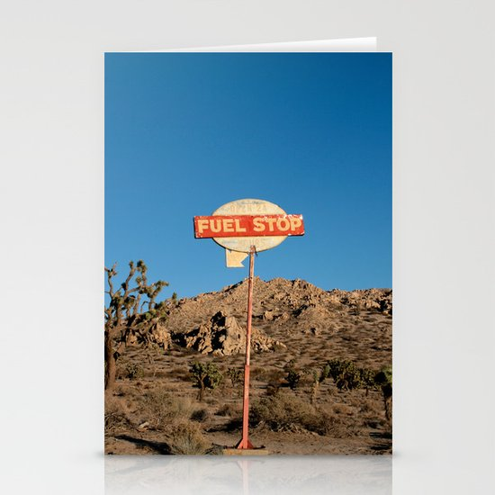Fuel Stop Stationery Card