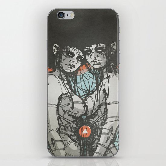 Nymphs (Ext) iPhone & iPod Skin