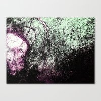 Stain Abstract 1 Canvas Print