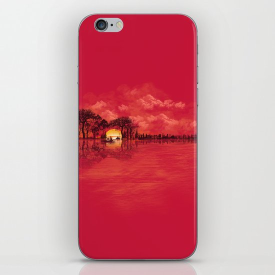 Musical Sunset iPhone & iPod Skin