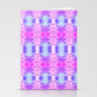 Pyschedelic Space Stationery Cards