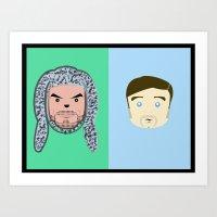 Wilfred & Ryan Art Print