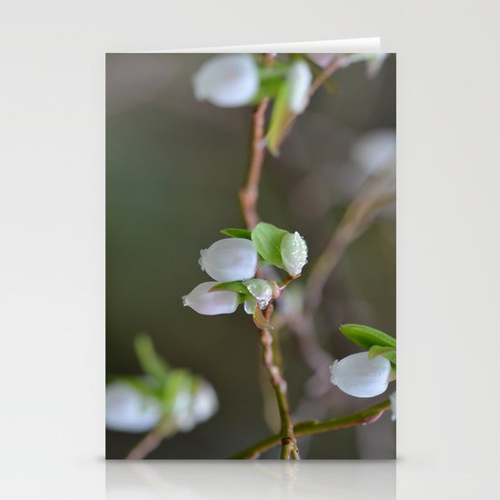 Wild Blooms Stationery Card