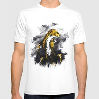 The Cheetah Mens Fitted Tee White SMALL