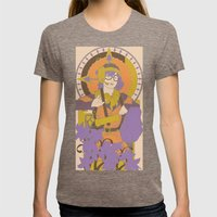Chronos IV Nouveau Womens Fitted Tee Tri-Coffee SMALL