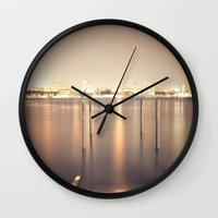 Voici/Voilà Wall Clock
