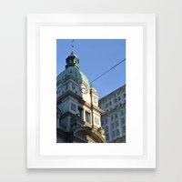 heritage vancouver pt 2 Framed Art Print