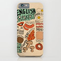 English Breakfast iPhone 6 Slim Case