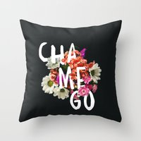 Chamego Throw Pillow