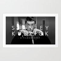 Opening Kubrick Art Print