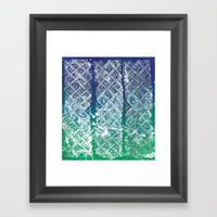 Knitwork II Framed Art Print