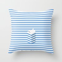 SPLIT MILK Throw Pillow