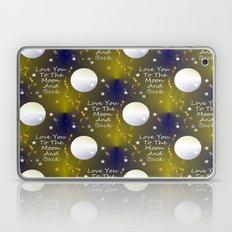 Stars And Moon Laptop & iPad Skin