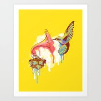 Sweet Music Art Print