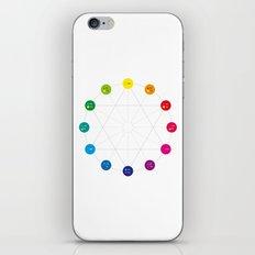 Simple Color Wheel iPhone & iPod Skin