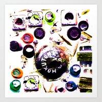 plugged Art Print